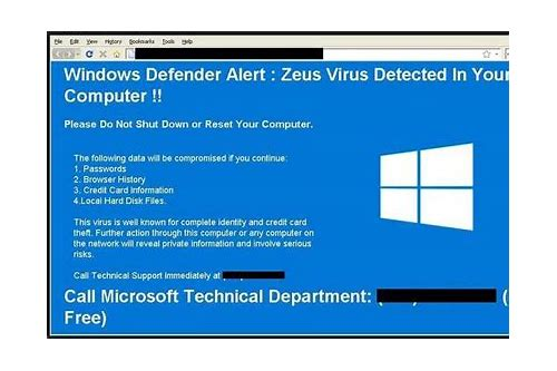 windows 7 herunterladen pop up virus