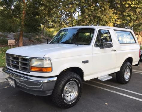 auto air conditioning service 1993 ford bronco parental controls 1993 ford bronco 43k original miles classic ford bronco 1993 for sale