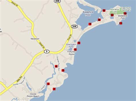 map of biddeford maine a weekend birding in maine