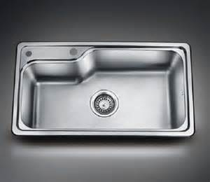 Top Mount Kitchen Sinks Stainless Steel - large stainless steel topmount single bowl kitchen sink from ningbo mtc kitchenware co ltd china