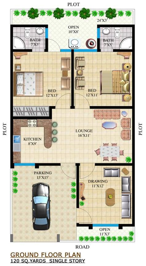 120 sq yard home design house plan in karachi pakistan home design and style