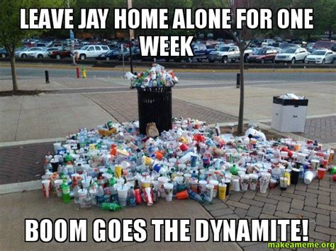 boom goes the dynamite meme leave jay home alone for one week boom goes the dynamite