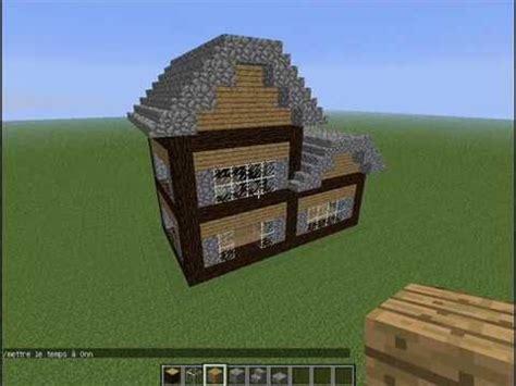 maison montagne minecraft minecraft tuto construire un chalet de montagne en 10