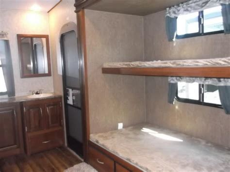 fifth wheel with 2 bathrooms fifth wheel bunkhouse 2 bathrooms new 2017 wildcat 363rb fifth wheel bunkhouse with