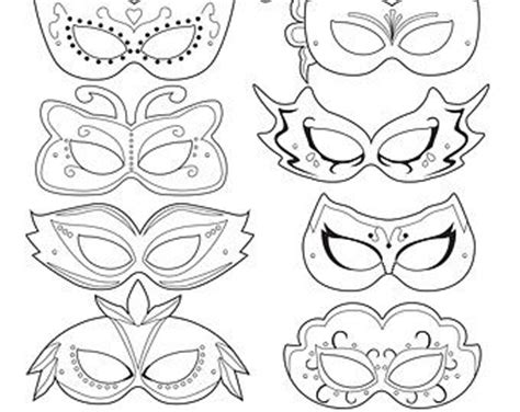 carnival mask template printable best 25 mask template ideas on