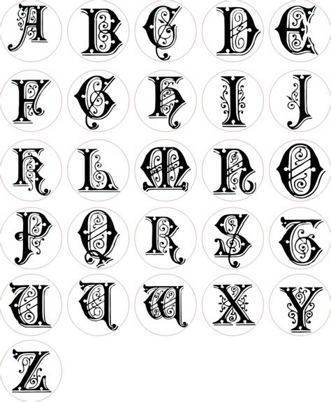 Letter Different Styles alphabets in different styles of letters alphabet in