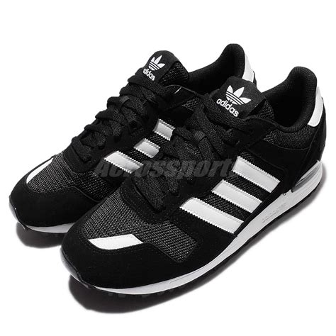 adidas originals zx 700 black white mens casual shoes sneakers s76174 ebay