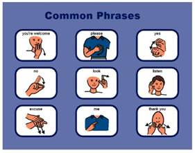 25 best ideas about sign language phrases on pinterest
