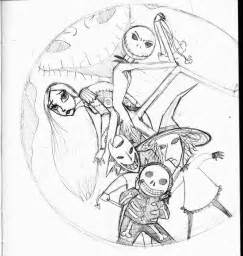 Before christmas coloring pages nightmare before christmas coloring
