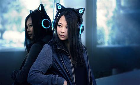 Headphone Axent Wear cat ear headphones by axent wear bored panda