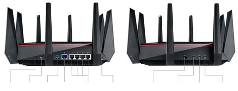 Asus Rt Ac5300 Wireless Ac 5300 Mbps Tri Band Gigabit Router eofy deals asus rt ac5300 gaming wireless ac5300 tri