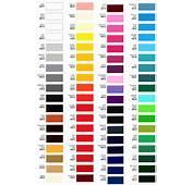Premium Race Car Color Chart