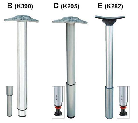 tavoli regolabili gambe regolabili in metallo per tavoli