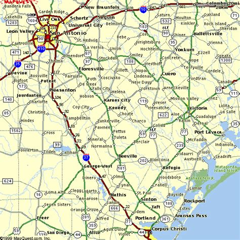 map of san antonio and surrounding area san antonio area regional map