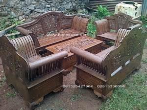 Klakson Katfer Keong Htm Murah kursi tamu madura ukir set kayu jati jepara jual mebel jati ud lumintu gallery furniture