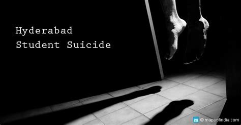 Why did the Dalit Scholar in Andhra Pradesh Commit Suicide