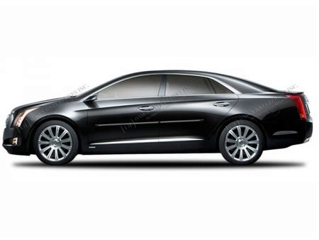 2013 Cadillac Xts Accessories 2013 2016 Cadillac Xts Engraved Chromeline Side