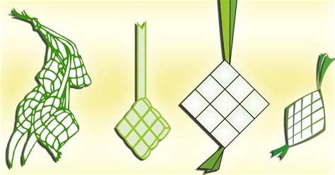 format vektor adalah 4 vektor ketupat lebaran format cdr blog azis grafis