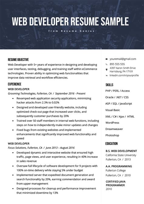 sample resume for software engineer oyle kalakaari co