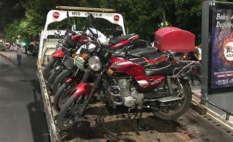 motosikletlere denetim