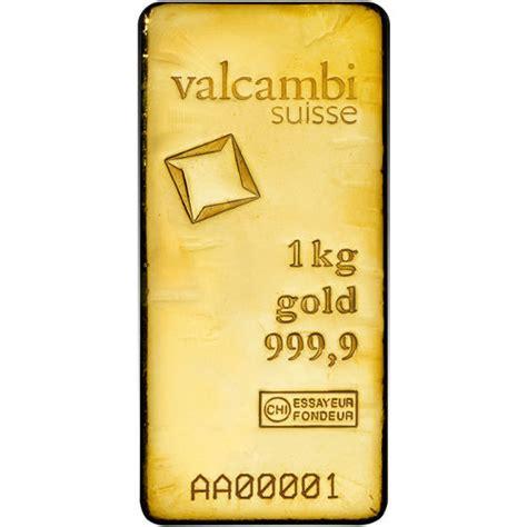 1 Kilo Silver Bar Valcambi by Buy 1 Kilo Valcambi Cast Gold Bars Silver