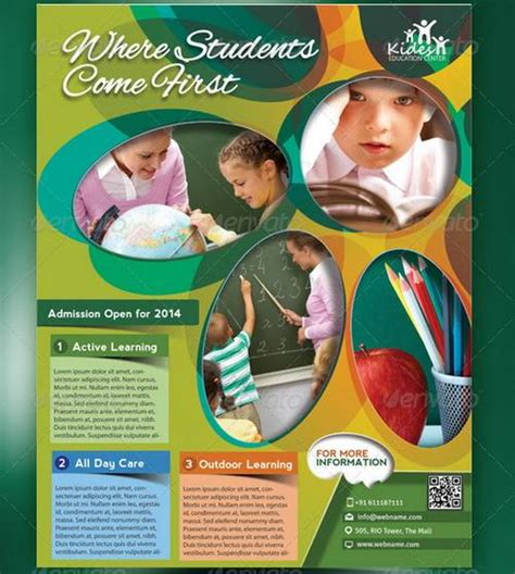 templates for school posters 100 awesome flier or flyer templates xdesigns