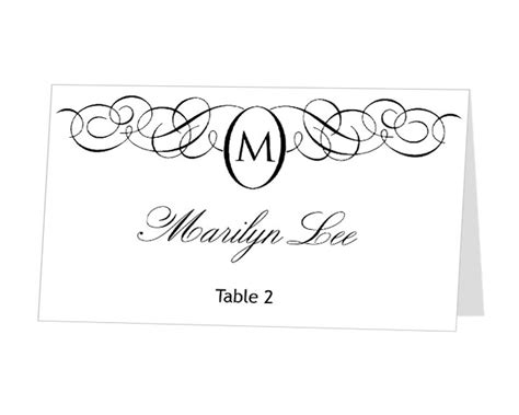 place card template for mac avery place card template instant card