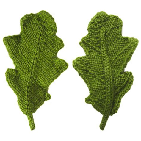 pattern knitting leaf leaves to knit for autumn 16 free patterns grandmother