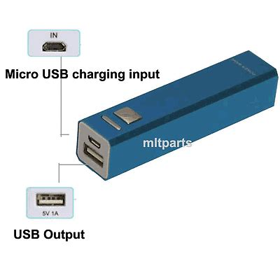 Power Bank Evercoss 2600mah 2600mah portable external power bank charger battery pack for mobile cell phone ebay