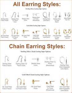 earring styles different types of earrings
