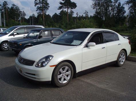 Used 2004 Nissan Skyline Photos 2500cc Gasoline Fr Or