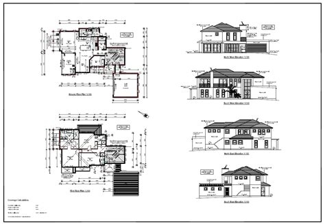 architectural design of new storey home
