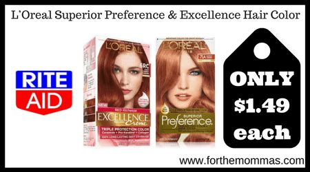 l or 233 al excellence cr 233 me permanent hair color 8g medium golden preference hair color coupon rite aid l oreal superior preference excellence hair