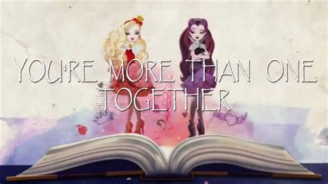 theme songs ever after high ever after high theme song lyrics youtube