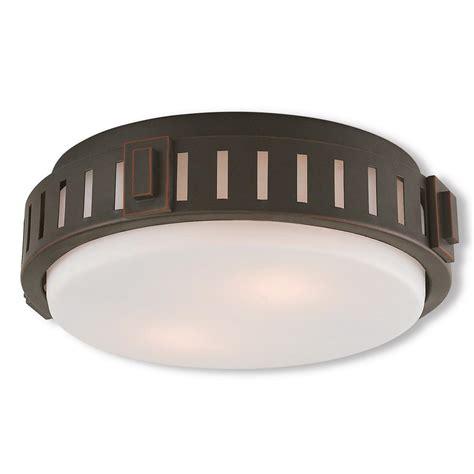 homeselects x light 2 light bronze flush mount ceiling light homeselects 2 light burnished bronze flushmount 6162 the