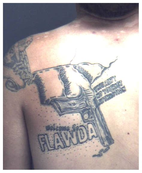 florida state tattoos welcome to flawda the gunshine state