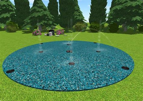 build your own backyard splash pad build your own splash pad in your backyard with this kit