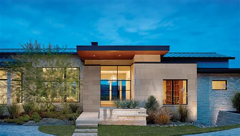 modern home design texas a contemporary design in texas limestone 2013 07 02