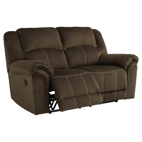 ashley furniture reclining loveseat quinnlyn reclining loveseat ashley furniture ebay
