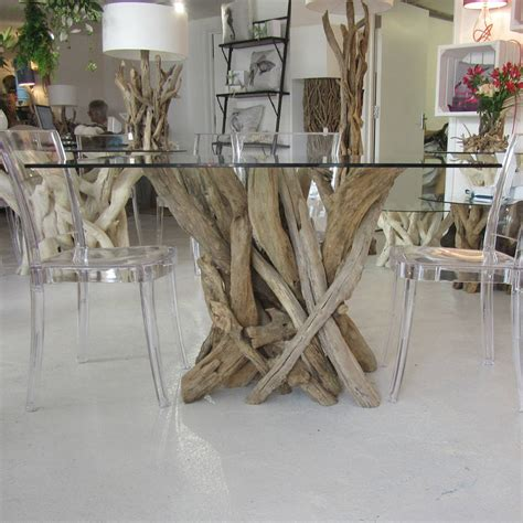 driftwood dining table to seat four by miller