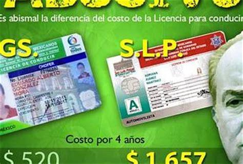 licencia para conducir san luis potos licencia para conducir en san luis potos 237 la m 225 s cara del