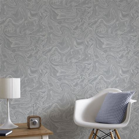 grey wallpaper nz marbled grey and silver wallpaper graham brown