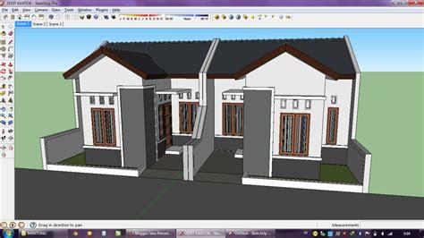 membuat gambar 3d dengan google sketchup idea persada arsitektur desain proses membuat gambar 3d