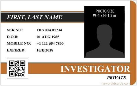 id card template for microsoft word microsoft word id card templates regarding id card template word