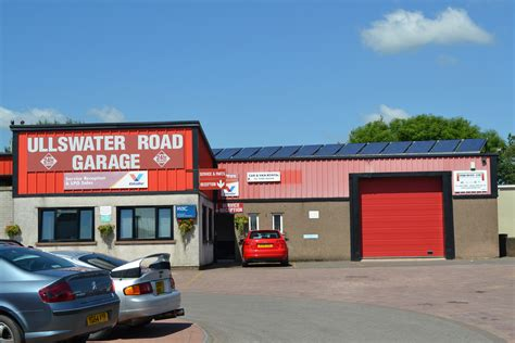 Road Garage ullswater road garage kendal 171 solar
