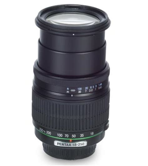 pentax 18 250mm f/3.5 6.3 ed a camera lens test review