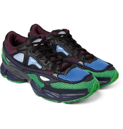 lyst raf simons ozweego 2 sneakers in green for