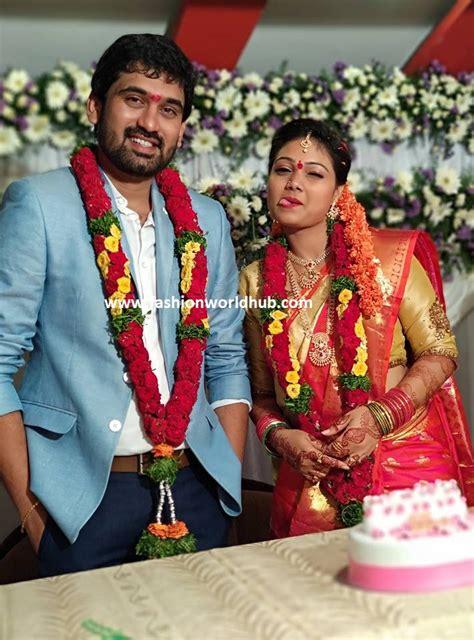 priyanka anchor wedding anchor priyanka and rahul engagement photos fashionworldhub