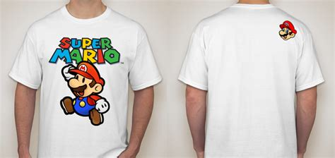 Kaos Mario S M L Xl kaos