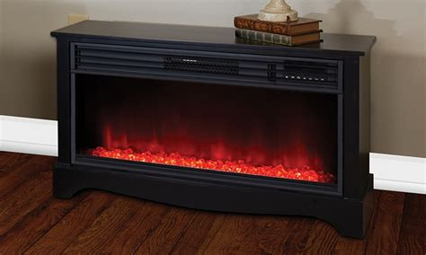 lifesmart electric fireplace lifesmart infrared 36 quot fireplace groupon goods